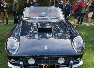 A beautiful 1961 Ferrari 250 GT California Spider