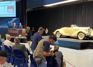 Worldwide auction tops $1 million — twice
