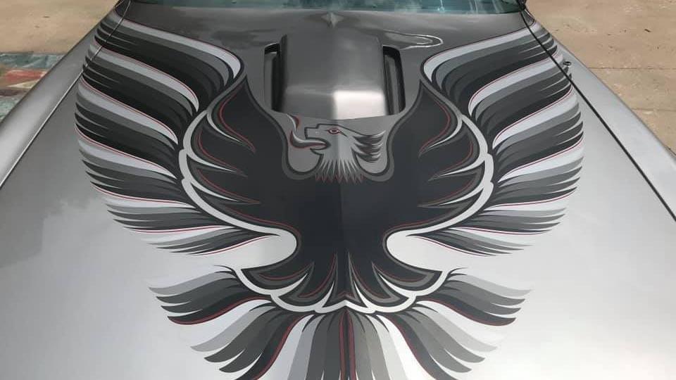 1979 Pontiac Trans Am 10th Anniversary hood with emblem