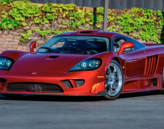 Twin turbo Saleen S7 being sold at Monterey Car Week