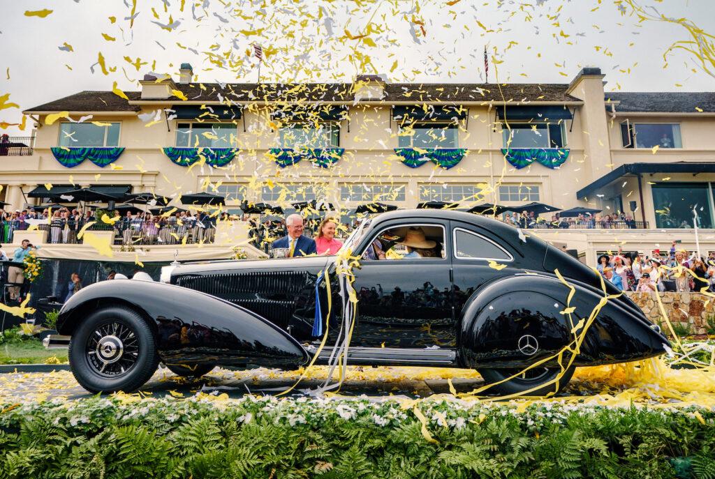 2021 Pebble Beach Concours d'Elegance winner - 1938 Mercedes-Benz 540K Autobahn Kurier