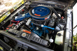 1968 Shelby GT500 KR Convertible engine