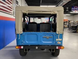 1968 Toyota FJ40 Land Cruiser trunk