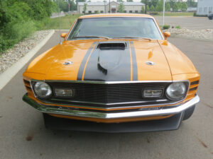 """1970 Ford Mustang Mach 1 """"Twister Special"""" front"""