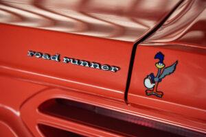 1970 Plymouth Superbird Road Runner badge
