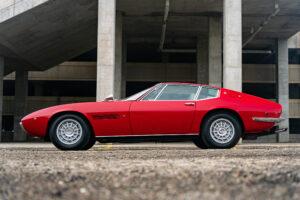 1971 Maserati Ghibli SS 4.9 Coupe by Ghia side profile