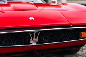 1971 Maserati Ghibli SS 4.9 Coupe by Ghia badge