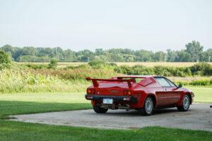 1985 Lamborghini Jalpa rear wing