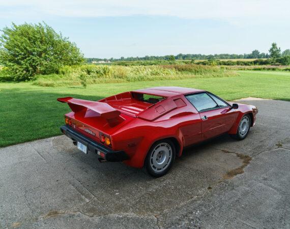 1985 Lamborghini Jalpa rear right