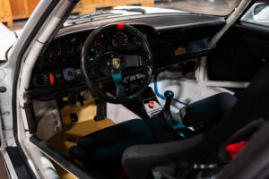 1992 Porsche 911 Carrera RS N/GT interior