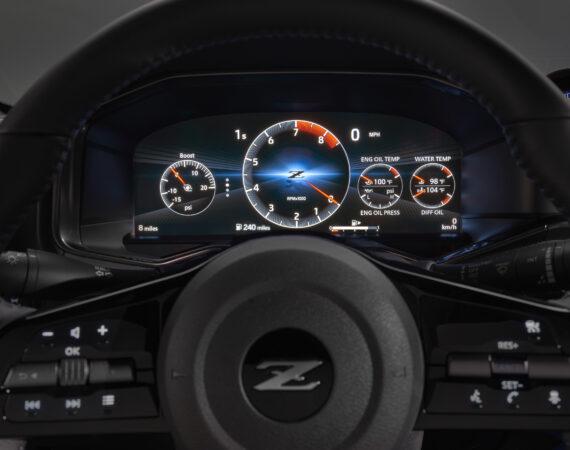 2023 Nissan Z dash