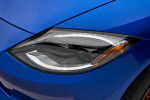 2023 Nissan Z headlight closeup