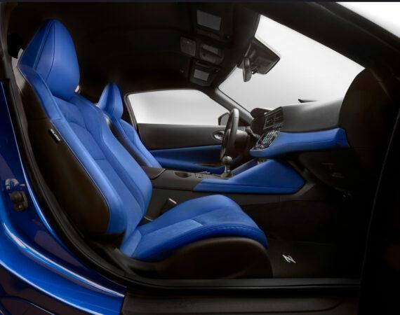 2023 Nissan Z passenger seat