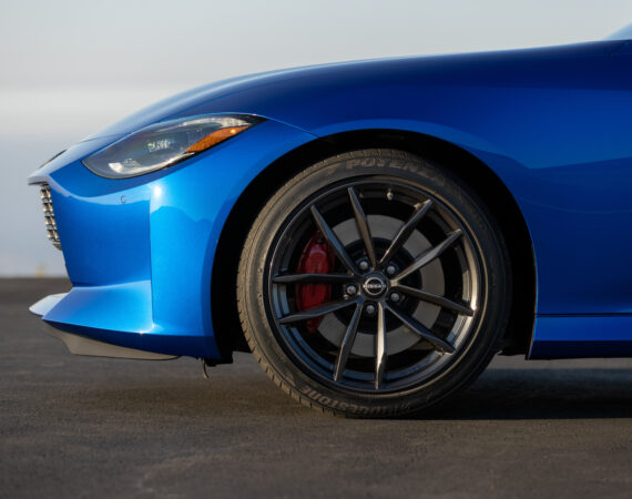 2023 Nissan Z Coupe front wheels