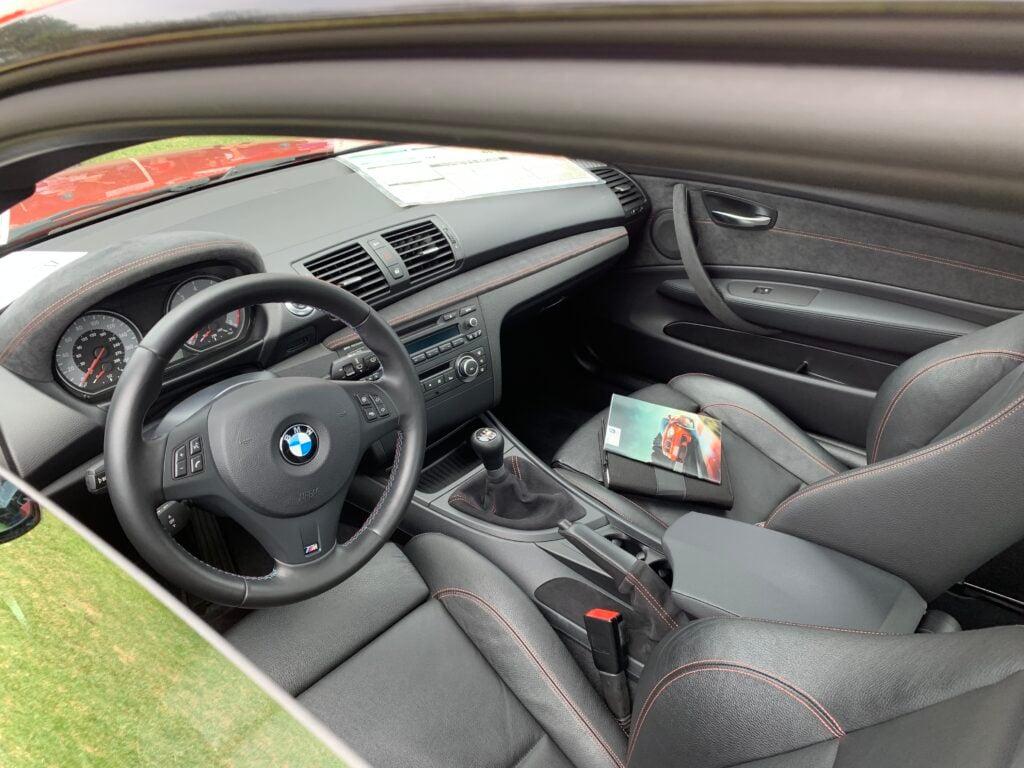 BMW 1 Series M Coupe interior