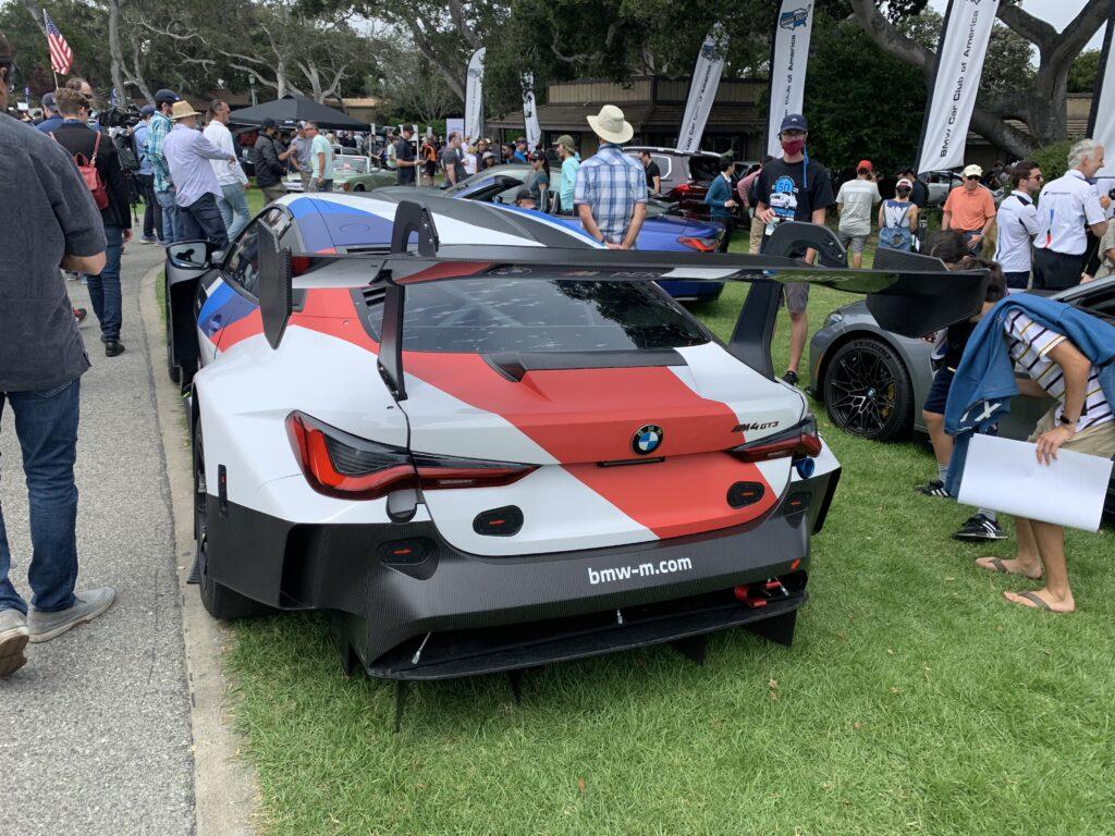 BMW M4 GT3 rear
