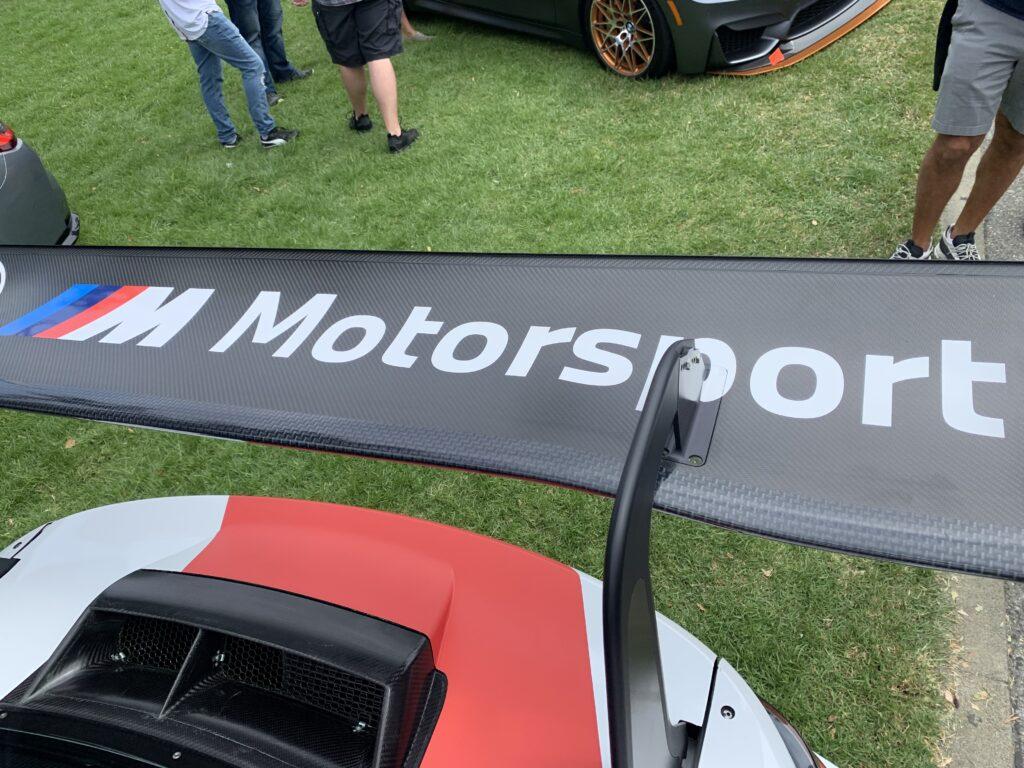 BMW M4 GT3 wing