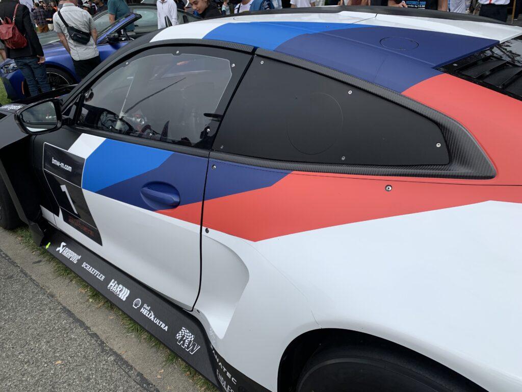 BMW M4 GT3 door