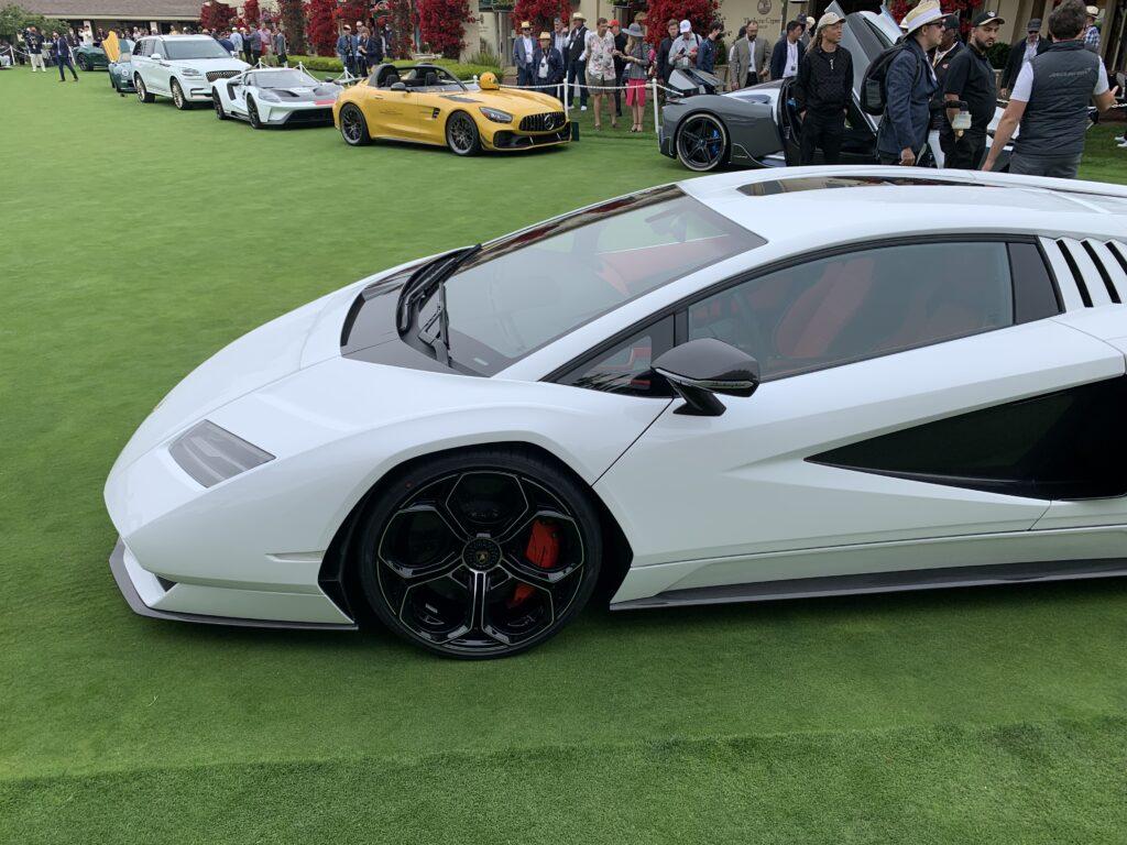 Lamborghini LPI 800-4 at Pebble Beach 2021