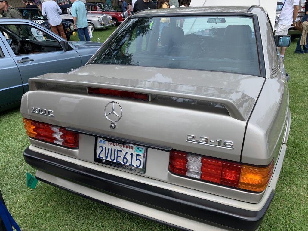 Mercedes-Benz 190E badges