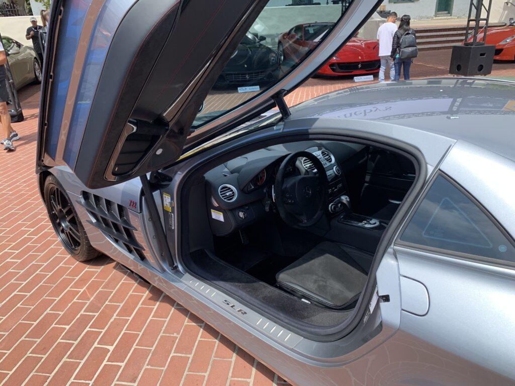 Scissor doors on McLaren SLR