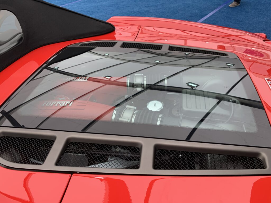 F430 Spider engine cover