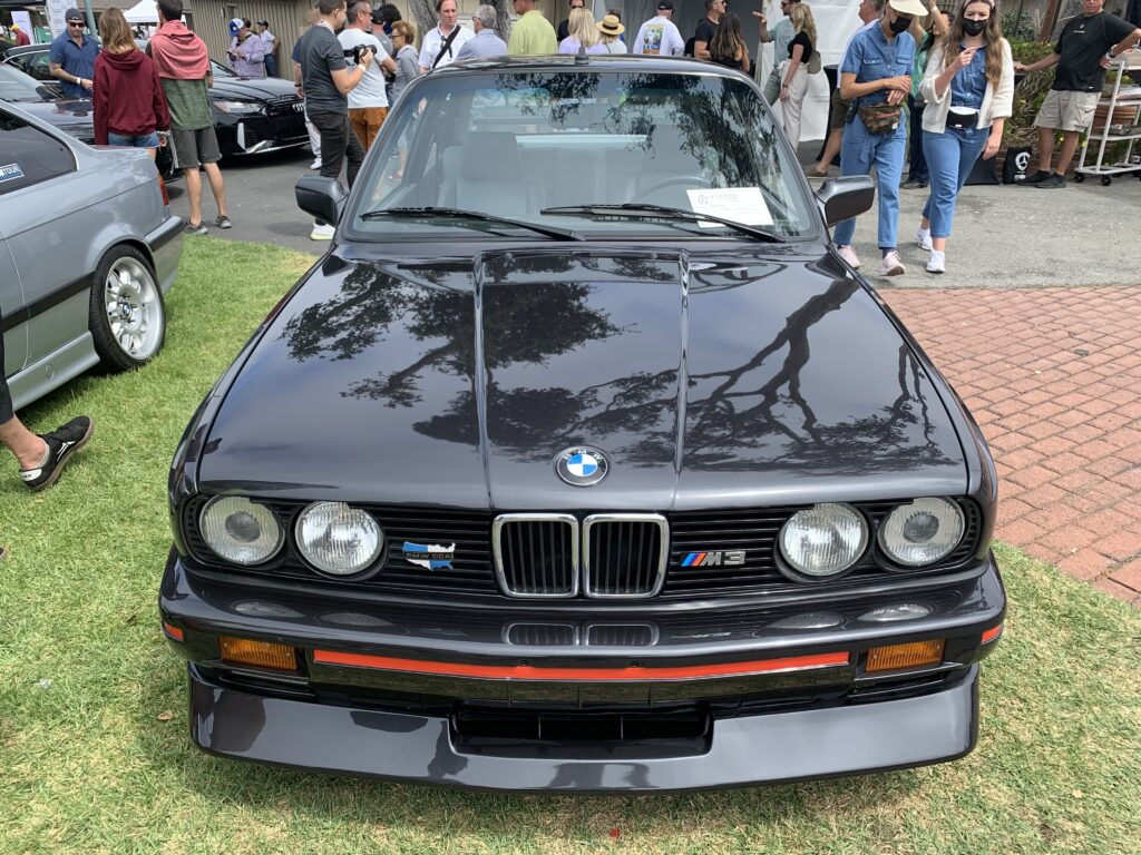 Front of E30 BMW M3
