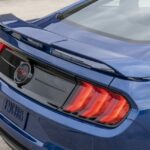 2022 Ford Mustang California Special Wing and Taillights